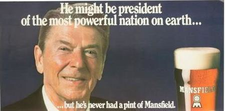 But he's never had a pint of Mansfield