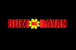 The Buzz (talk show) - Buzz Ng Bayan logo used from 2013 to 2014.