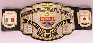 CMLL World Tag Team Championship Professional wrestling tag team championship