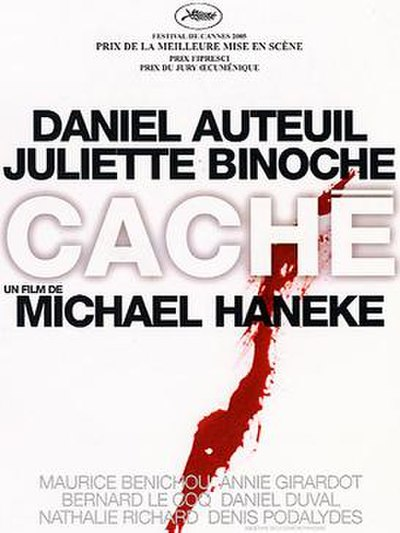Picture of a movie: Cache