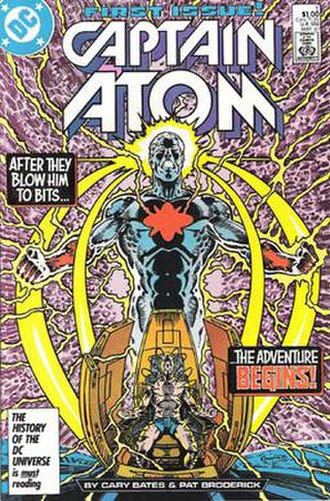 Captain Atom - Image: Captain Atom 01