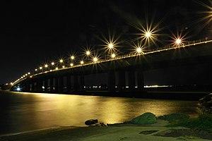 Captain Cook Bridge, New South Wales - Image: Captain Cook Bridge from Taren Point
