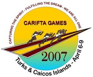 2007 CARIFTA Games - Image: Carifta logo 2007