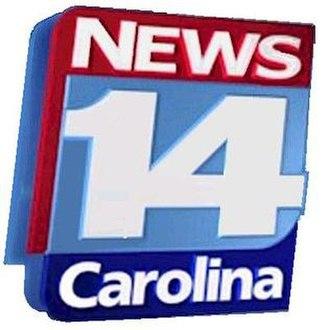 Spectrum News North Carolina - Logo as News 14 Carolina used from 2002 to 2013.