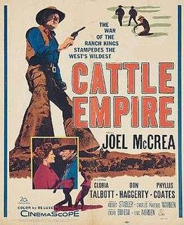 <i>Cattle Empire</i> 1958 film