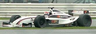Eddie Cheever - Eddie Cheever, Silverstone GP Masters, 2006.