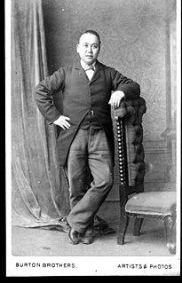 Charles Sew Hoy Merchant, Chinese leader, gold-dredger
