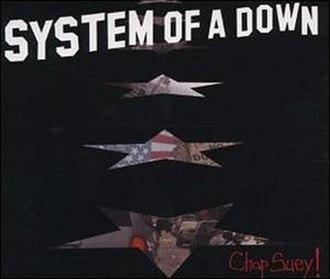 Chop Suey! (song) - Image: Chop Suey Europe