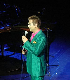 Julian Clary - Clary performing in The Lovely Russell, June 2008