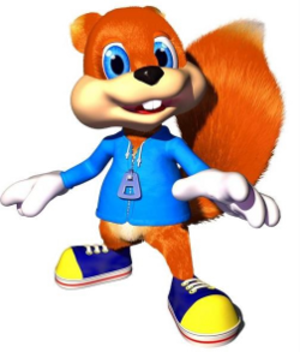 Conker the Squirrel - Conker the Squirrel as he appears in Conker's Bad Fur Day