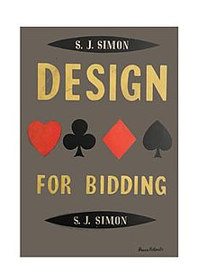 Cover of the book by S. J. Simon titled Design For Bidding.jpg