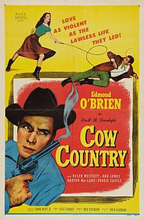 <i>Cow Country</i> 1953 film by Lesley Selander