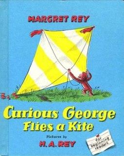 <i>Curious George Flies a Kite</i> book by H. A. Rey