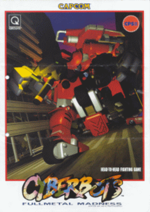 Cyberbots: Full Metal Madness - Arcade flyer