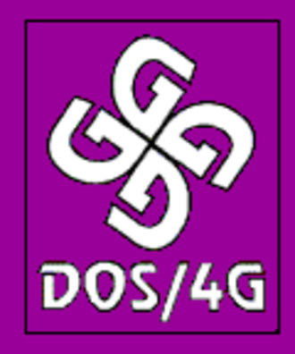 DOS extender - Tenberry Software's DOS/4G product logo
