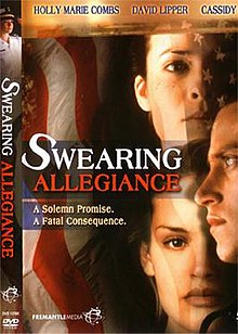 DVD cover of the movie Swearing Allegiance.jpg