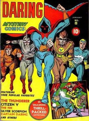 Daring Mystery Comics - Image: Daring Mystery 8