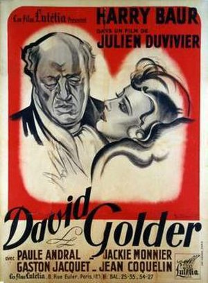 David Golder (film) - Image: David golder duvivier film poster