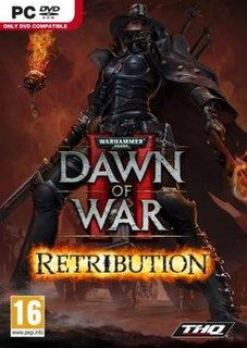 <i>Warhammer 40,000: Dawn of War II – Retribution</i> video game