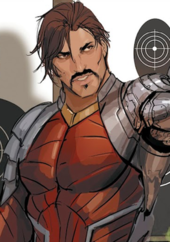 2a88c93c9 Deadshot as he appears without his mask in Suicide Squad vol. 5, #20  (August 2017). Art by Stjepan Šejić.