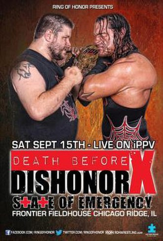 Death Before Dishonor X: State of Emergency - Image: Death Before Dishonor X