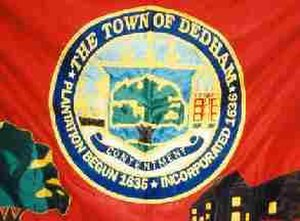Dedham, Massachusetts - Image: Dedham flag