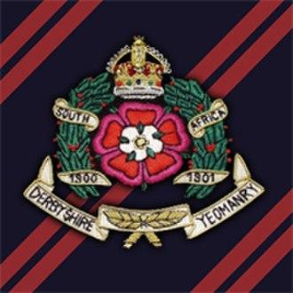 Derbyshire Yeomanry - Cap badge of The Derbyshire Yeomanry