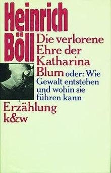 dieverloreneehrederkatharinablumjpg - Heinrich Boll Lebenslauf