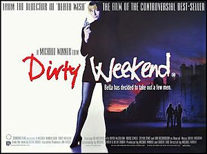 Dirty Weekend (1993 film) - Theatrical release poster