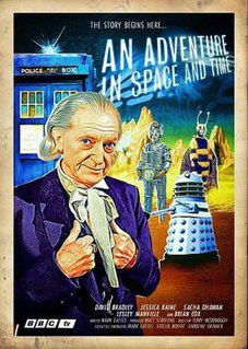 <i>An Adventure in Space and Time</i> 2013 British television docudrama directed by Terry McDonough