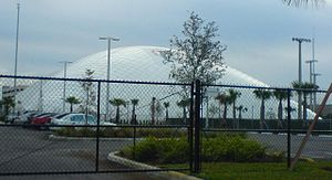 Miami Dolphins Training Facility - Miami Dolphins Training Facility Bubble