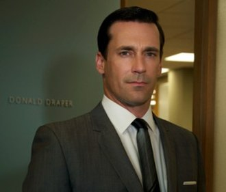 Don Draper - Jon Hamm as Don Draper