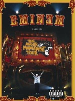 Anger Management Tour - Image: Eminem Anger Management Tour DVD Cover 2005