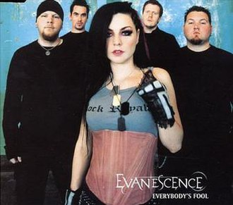 Everybody's Fool - Image: Everybody's Fool (Evanescence single cover art)