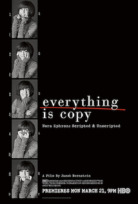 Everything Is Copy — Nora Ephron: Scripted & Unscripted