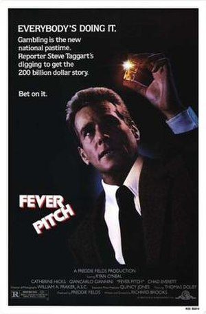 Fever Pitch (1985 film) - Theatrical poster
