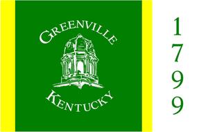 Greenville, Kentucky - Image: Flag of Greenville Kentucky