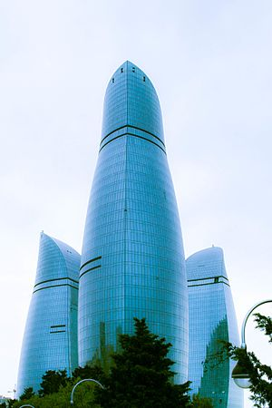 Flame Towers in 2015.jpg