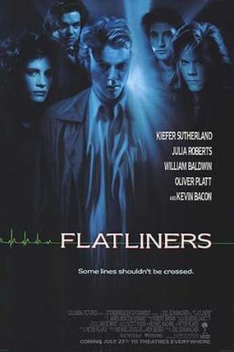 Flatliners - Theatrical release poster by John Alvin