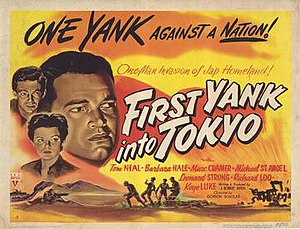 First Yank into Tokyo - Original film poster
