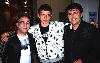George Kapiniaris - Kapiniaris with Simon Palomares shown at right in 2008