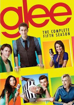 Glee (season 5) - Promotional poster and home media cover art