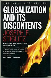 2002 non-fiction book by Joseph E. Stiglitz