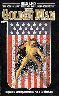 <i>The Golden Man</i> (collection) short story collection by Philip K. Dick