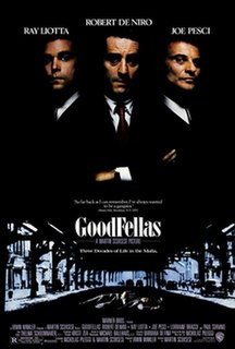 <i>Goodfellas</i> 1990 crime film directed by Martin Scorsese