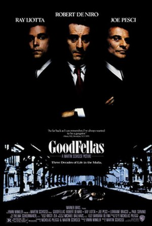 Goodfellas - Theatrical release poster