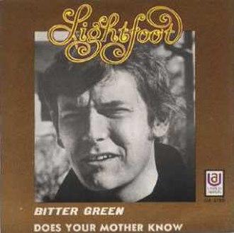 Bitter Green - Image: Gordon lightfootbitter