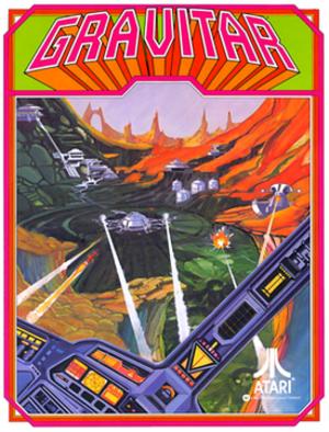 Gravitar - Gravitar arcade flyer