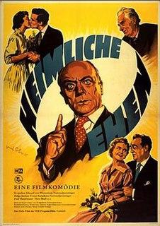 <i>Heimliche Ehen</i> 1956 film