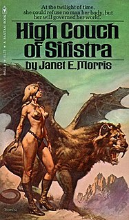 <i>High Couch of Silistra</i> novel by Janet Morris